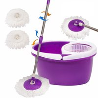 Wholesale Easy Magic Floor Mop Bucket Heads Microfiber Spin Spinning Rotating Head
