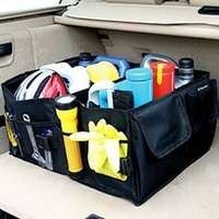 Wholesale 2016 hot sale sorting box car trunk storage box glove box non woven bag Shopping Cart Covers