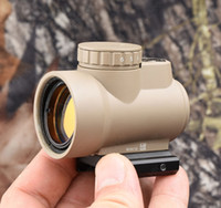 Wholesale Tactical Trijicon MRO style x Red dot sight scope Increase Adapter picatinny mount TAN hunting shooting M9500