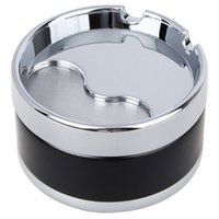Wholesale NEW Fashion European Universal Portable Ashtray Smokeless Smoking Accessories Smooth to Use for Home Decor for Car Use