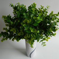artificial green plants - Artificial Eucalyptus Grass Decorative Flowers Brand New Fake Green Plant Floral Decorative Ornaments for Wedding Party