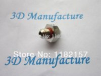 Cheap 2 pcs  lot 0.3mm 3D printer extruder nozzle Print head Mk7 Makerbot common use Other Electronic Components