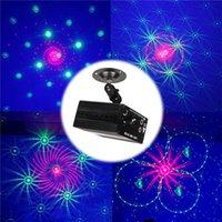 auto entertainment system - ZjRight NEW Arrival RG Laser projector patterns blue led Club Party Bar DJ light Dance Disco party Stage Lights show system Rated