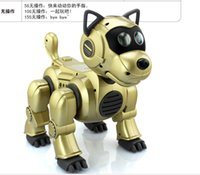 Wholesale 2016 New Arrival Smart Toy Dog intelligent machine dog remote control robot dog toy