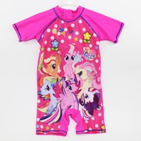 Wholesale The children wear one piece swimsuit and ammonia Cotton Mens clothes authentic children swimming supplies factory direct