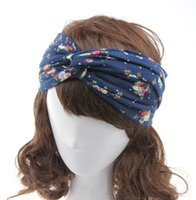 autumn twist - Hot Sale Ladies Casual Turban Headscarf Wrap Handbands Women Headwear Twist Fashion spring Autumn Style Sport Headband