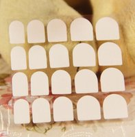 Wholesale Transparent False Nail Tips Nail Art Double Side Adhesive Glue Sticker Beauty DIY Manicure Tools