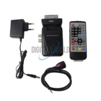 Cheap Scart Digital TV Box Tuner DVB-T FreeView Receiver SD #2610 box cigar box for hard drive