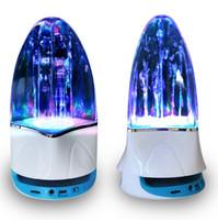Precio de Fuente de la música llevado-Altavoz de la fuente de la alta calidad LED Luz Bluetooth que baila la fuente de la música del altavoz Soundbox de la música para el iphone Ipad, mp4