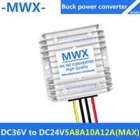 Wholesale DC36V to DC24V DC buck converter V step down V module waterproof Car Power Converter V turn V V V to V