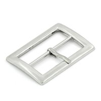 Wholesale Hot Shoes Buckles Accessory Rectangle Clip Belt Buckles For Bag Shoes Silver Tone cm x cm order lt no track