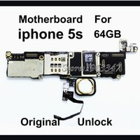 Wholesale Unlocked Original Phone Mainboard For Iphone S Motherboard With Touch ID GB Working EU version With Full Chips