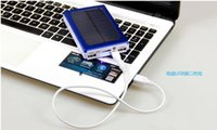 android solar panel - 15000mAh Universal Solar Power Bank Panel Battery Charger for iPhone Android Phone PAD Tablets Portable Solar PowerBank LED Light Lamp