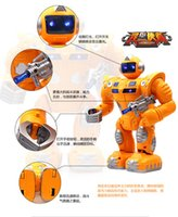 aces music - Ace agent fit with music lighting plastic vocal robot toy star messenger angel