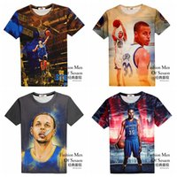 Wholesale Bryant T Shirt d Basketball James Durant Kobe Tshirt Sport T shirt Brand Summer Tops Masculino Hip Hop Sweatshirt Short Sleeve