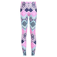 Mujeres Moda Mural Galaxy Leggings Colorful Pantalones de buceo Impreso Sky Space Stretchy Breathe Navidad caliente Jeggings Slim Tights