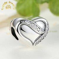 Cheap S925 sterling silver Beads Best silver charm bead