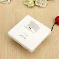 Wholesale New Arrival in1 Auto On Off Infrared PIR Occupancy Security Infrared Motion Sound Sensor Switch Recessed Wall Light