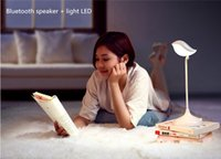 android the music - HiFi Bluetooth speaker led light the creative table lamp led light can answer phone and listen music suit for IOS and android phone