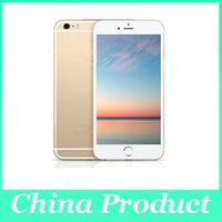 """Cheap Goophone i6s Plus I6s 1:1 5.5"""" Metal Quad core MTK6582 Android cell phone Dual camera Show 1G 128GB Show 4G Lte 3G cheap phone 010283"""
