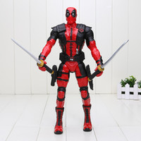 Wholesale 13 cm Super hero Deadpool Figure PVC Action Figure Collectible Model Toy Deadpool Toy Bag Box