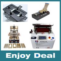 Wholesale Full sets repai rphone OCA Vacuum Laminating machine Remover Machine Debubbler Integrated in1 Frame Separator Automatic OCA film machine