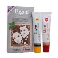 bigen hair color - Japan Bigen Speedy Coloured Chalks For The Fast Hair Dye Comb Color Conditioner Natural Brown Set Chalk Salon Styling