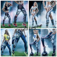 ankle workouts - Free DHL Newest Fashion Womens d Galaxy Printed Leggings for Women Workout Capri Leggings Yoga Stretch Tights Sport Rugby Leggings M46