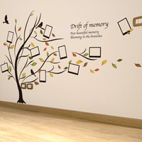 tree life piece art - 60 cm Wall Stickers DIY Art Decal Removeable Wallpaper Mural Sticker XL8153 Big Tree Drift of Mermory