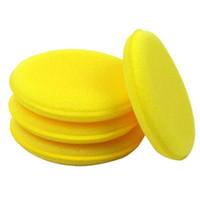 Wholesale 600pcs Waxing Polish Wax Foam Sponge Applicator Pads For Clean Car Vehicle Glass DHL Free