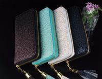 Venta al por mayor a 2015 Hard Cover Los titulares de tarjetas Monedero verano fresco estilo de las mujeres de Fashional del bolso de cuero de imitación de alta calidad bolso famoso diseñador