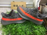 Wholesale Send With Original Boxes Newest Arrival V2 shoes Color Orange Grey Black Size