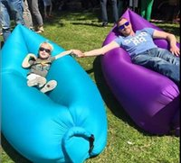 aired live - 2016 the most popular Sleeping air bag in Europe and the United States inflatable sofa Beanbag Lazy sofa Beach sofa