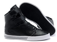 Wholesale New authentic leather mens fashion design justin bieber high top shoes plus euro size