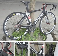 Wholesale 2016 Cervelo s5 Carbon Road Bicycle full Bike Cosmic White Wheelset zipp handlebar and stem saddle A02