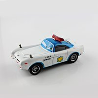 agents for models - Pixar kids cars2 toys race car Agent Finn airport police version metal scale diecast Vehicles figure models toys gifts boys for children