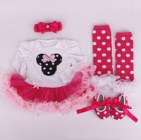 american girl socks - Hug Me Toddler Girls Clothes Sets Summer Fashion Lace Floral Rompers Socks Headband Shoes pieces sets AA