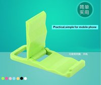 plastic folding chairs - Cheapest Universal two way portable phone holder folding beach chair plastic stand lazy bracket for iphone Samsung HTC Xiaomi etc