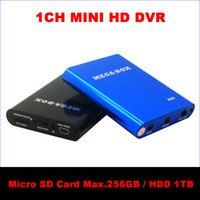 Wholesale Mini Digital Video Audio Recorder DVR Motion Detection SD Card Video Recorder Support GB Micro SD Card HDD TB