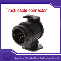 adapter trailer - New Arrival V To Pins Plug Adapter Electrical Converter Truck Trailer Connector of High Quality
