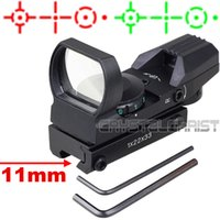 airs project - Hunting Red Green Dot Projected Reflex Reticle Holographic Tactical Reflex Air Rifle Pistol Sight Scope W Mount mm