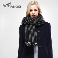 acrylic scarf soft - 2016 Design Scarf Soft Warm Scarf Winter Brand Shawl Women Fashion Tassel Thicken Long Scarves Woman Newest
