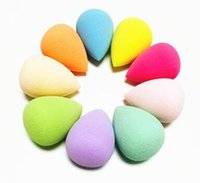 Wholesale Great Beauty Sponge Blender Makeup Blending Foundation Smooth Sponge Makeup Blender Face Powder Make Up Puff Beauty Smooth Cotton