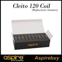 Wholesale Aspire Cleito Coil ohm Head Cleito Glass Tube for Aspire Cleito Tank Aspire Cleito Replacement Coil Tube ohm Coils