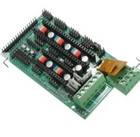 Wholesale 3D Printer RAMPS Controller Board For Reprap Mendel Prusa Arduino With heater fan output three thermistor MOSFET