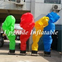 air dancer - custom various color fire inflatable advertising air dancer for sale