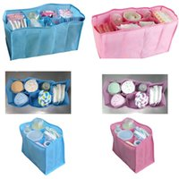 baby clothes dividers - 1pcs Baby Diaper Nappy Water Bottle Changing Divider Storage Organizer Travel Bag Portable Multifunction High Quality