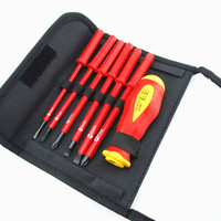 Wholesale New set V Electricians Screwdriver Set Tool Electrical Fully Insulated High Voltage Multi Screw Head Type Best Price