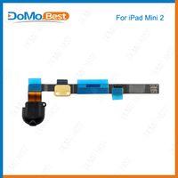 audio jack parts - Original Headphone Audio Jack Flex Cable Ribbon For iPad mini Spare Parts Replacement White Black