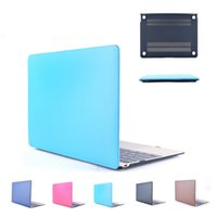 Wholesale Laptop Case for Apple Macbook Pro quot Crystal Hard PC Cover inch Stick Leather Blue Color